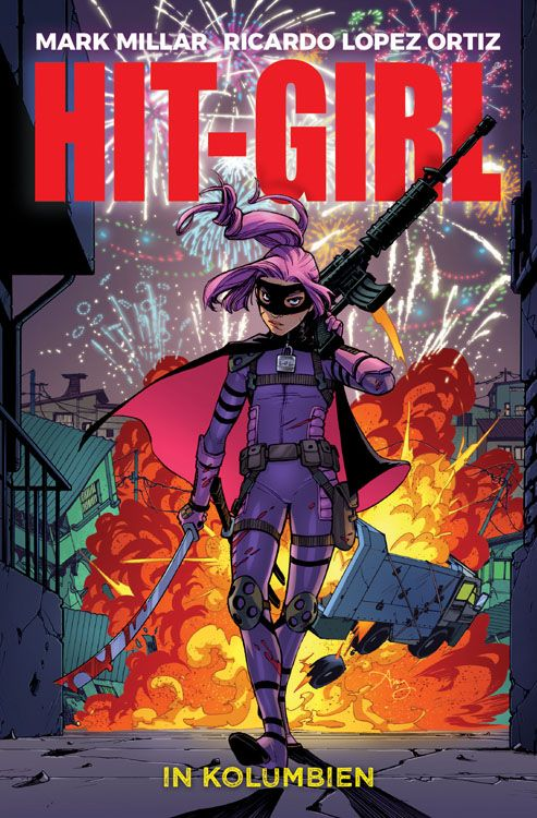 Hit-Girl in Kolumbien