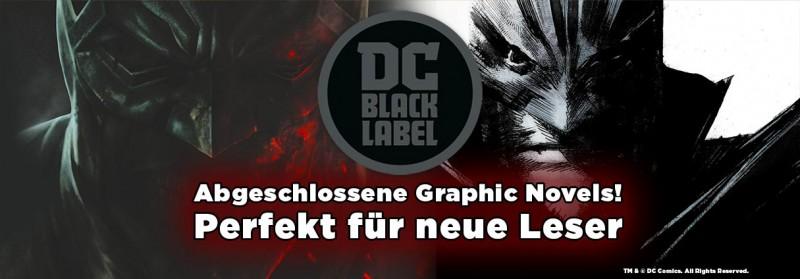 DC Black Label –abgeschlossene Graphic Novels – perfekt für neue Leser
