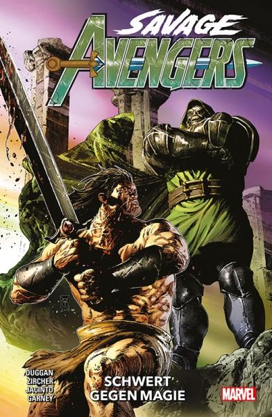 Savage Avengers 2: Schwert gegen Magie Cover