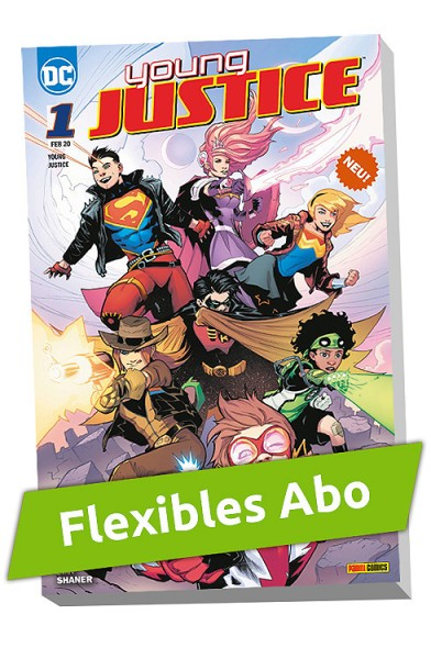 Flexibles Abo – Young Justice