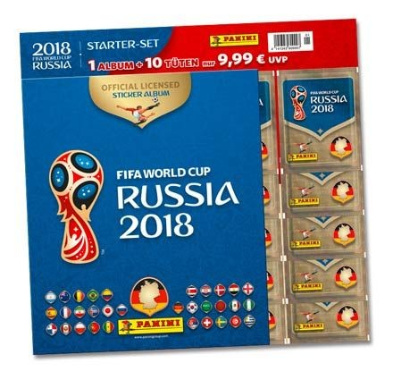 2018 FIFA World Cup Russia Stickerkollektion – Starterset 3