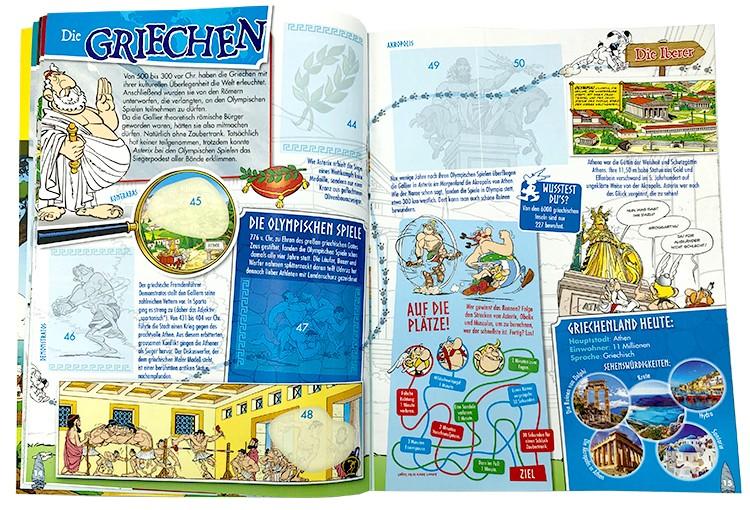 Asterix: 60 Jahre Abenteuer - Album Inhalt Beispiel