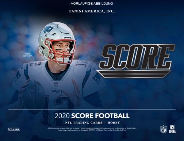 NFL Score 2020 Trading Cards - Hobbybox