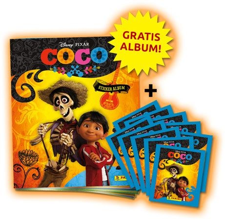 Disney: Coco Stickerkollektion - Bundle 2