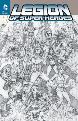 Legion of Super-Heroes 1 Variant - Comic Action 2012