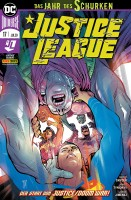 Justice League 17 Cover