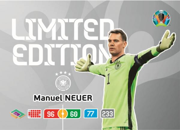 Euro 2020™ LE-Card: Manuel Neuer (Deutschland)