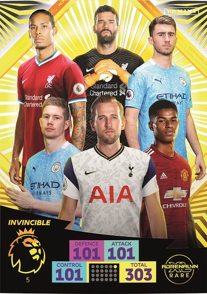 Panini Premier League Adrenalyn XL 2020/21 - Invincible