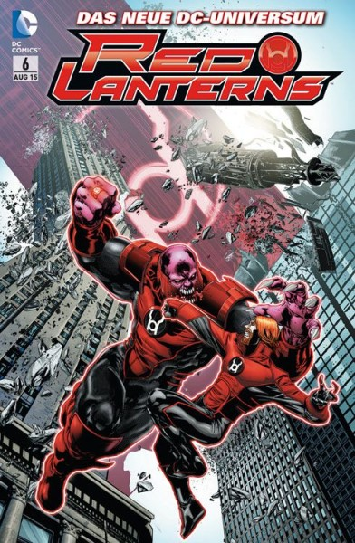Red Lanterns 6
