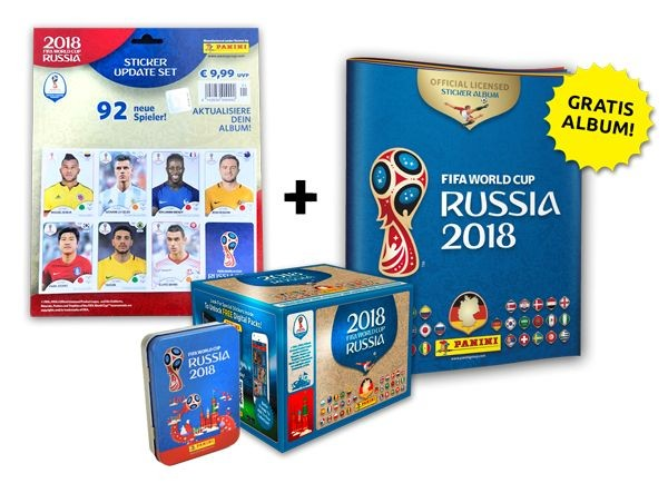 2018 FIFA World Cup Russia Stickerkollektion – Updatebundle 2