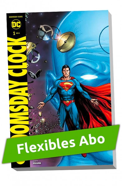 Flexibles Abo - Superman Doomsday Clock