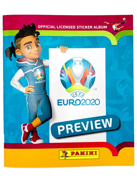 UEFA EURO 2020™ Stickerkollektion - Official Preview Collection - Album