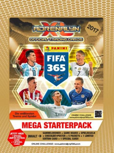 FIFA 365 2017 - Adrenalyn XL - Mega Starterset