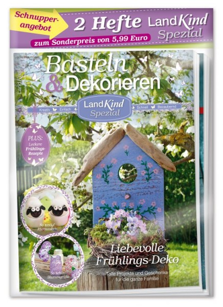 Landkind Spezial 01/19: Basteln & Deko - Frühling