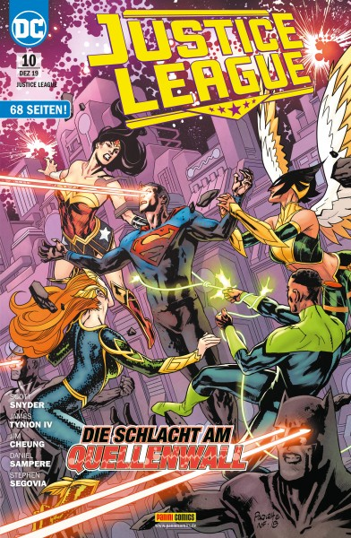 Justice League 10: Die Schlacht am Quellenwall