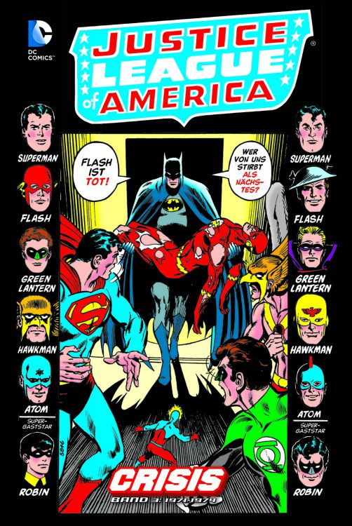 Justice League of America: Crisis 3
