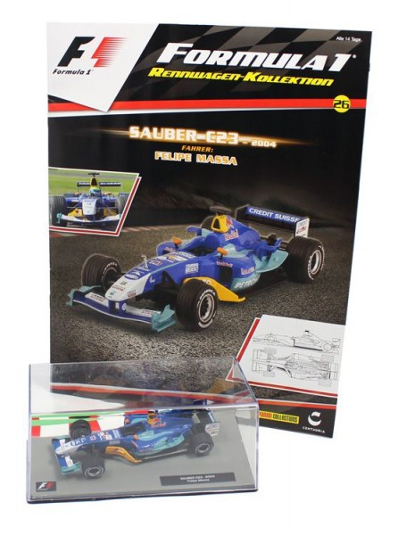 Formula 1 Rennwagen-Kollektion 26: Felipe Massa (Sauber C23)