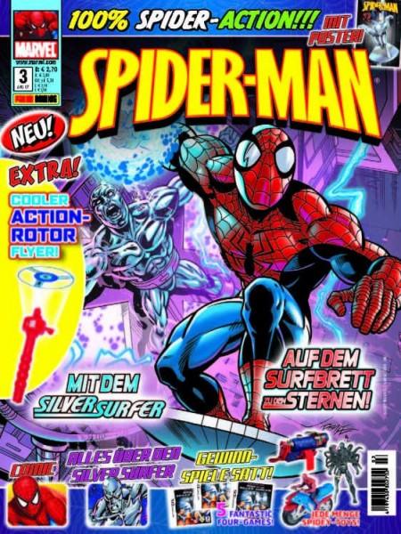 Spider-Man Magazin 3