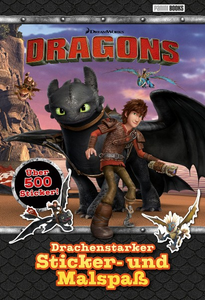 Dragons - Drachenstarker Sticker- und Malspaß