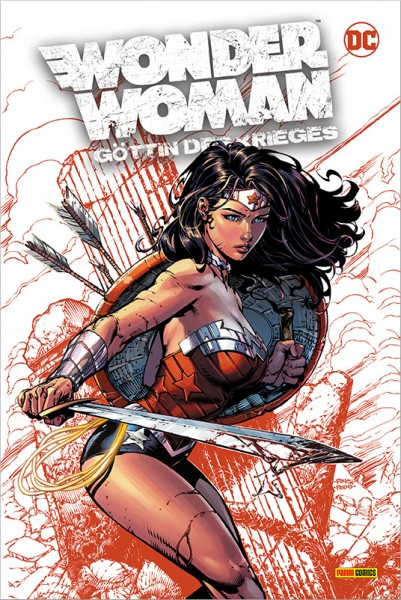 Wonder Woman - Göttin des Krieges (Deluxe Edition) Cover