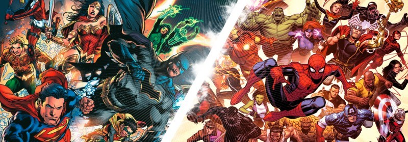 Checkliste Superhelden Comics Banner