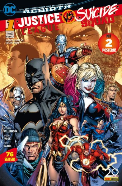 Justice League vs. Suicide Squad 1