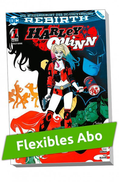 Flexibles Abo - Harley Quinn