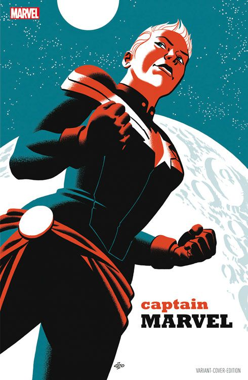 Captain Marvel 1 Variant