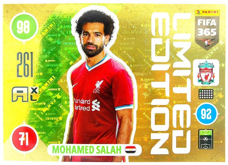 Panini FIFA 365 Adrenalyn XL - Limited Edition Card Mo Salah
