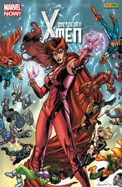 Die neuen X-Men 15 Variant - Comic Action 2014