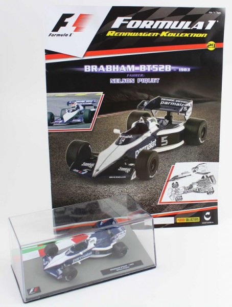 Formula 1 Rennwagen-Kollektion 29: Nelson Piquet (Brabham BT52)