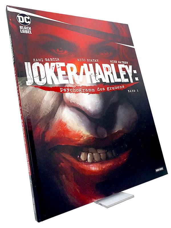 Joker/Harley: Psychogramm des Grauens – Cover