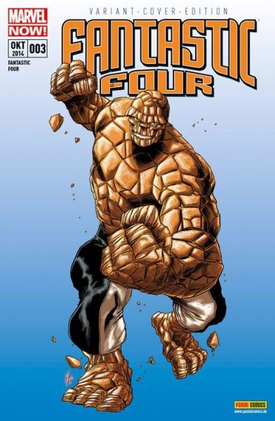 Fantastic Four Sonderband 3 Variant Comic Action 2014