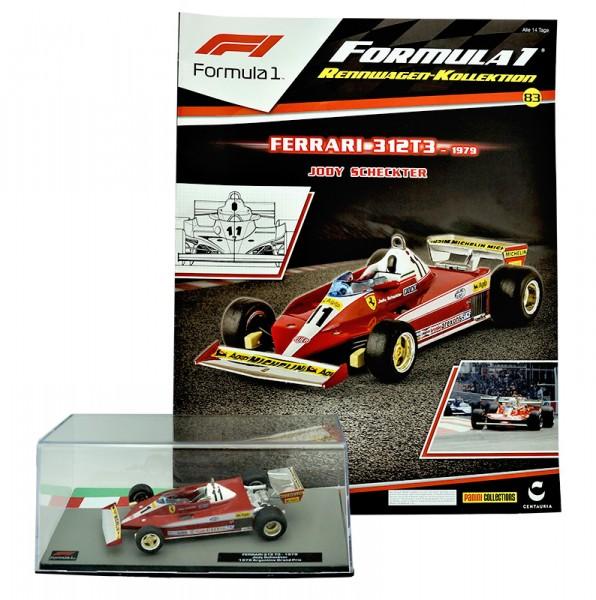 Formula 1 Rennwagen-Kollektion 83: Jody Scheckter (Ferrari 312T3)