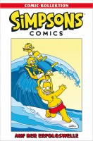 Simpsons Comic-Kollektion 61: Auf der Erfolgswelle Cover