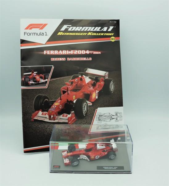 Formula 1 Rennwagen Kollektion - 80 - Rubens Barichello - Ferrari F2004