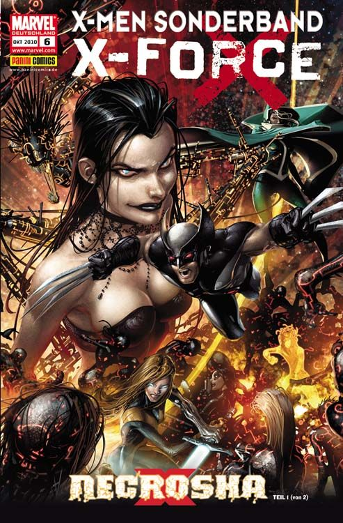 X-Men Sonderband: X-Force 6 - Necrosha 1