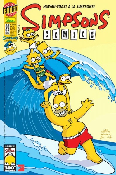 Simpsons Comics 89