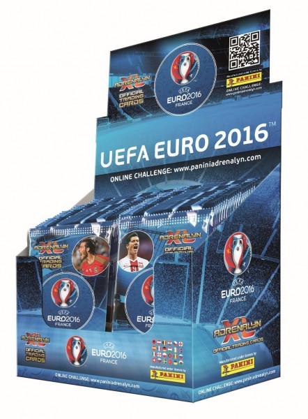 UEFA Euro 2016 Adrenalyn XL - Box mit 50 Tüten