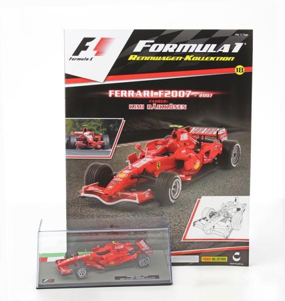 Formula 1 Rennwagen-Kollektion 18: Kimi Raikkonen (Ferrari F2007)