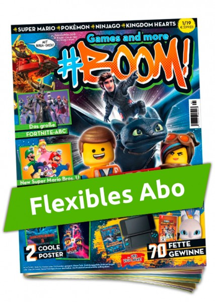 Flexibles Abo - Games and more #Boom!