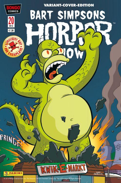 Bart Simpsons Horror Show 20 Variant...