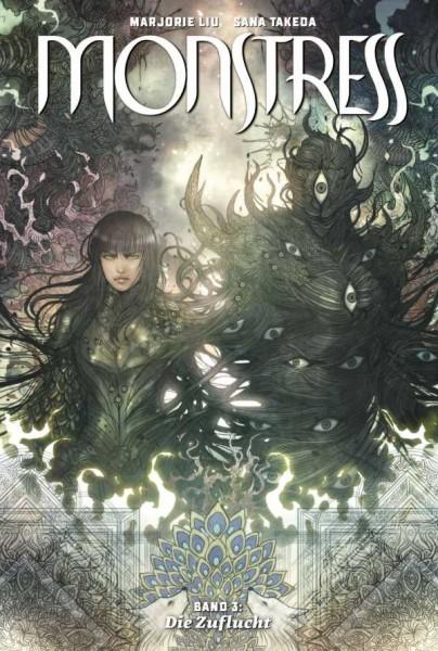 Monstress 3: Die Zuflucht Cover