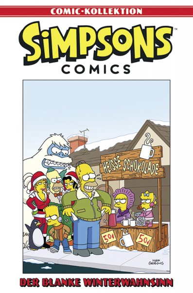 Simpsons Comic-Kollektion 47: Der blanke Winterwahnsinn