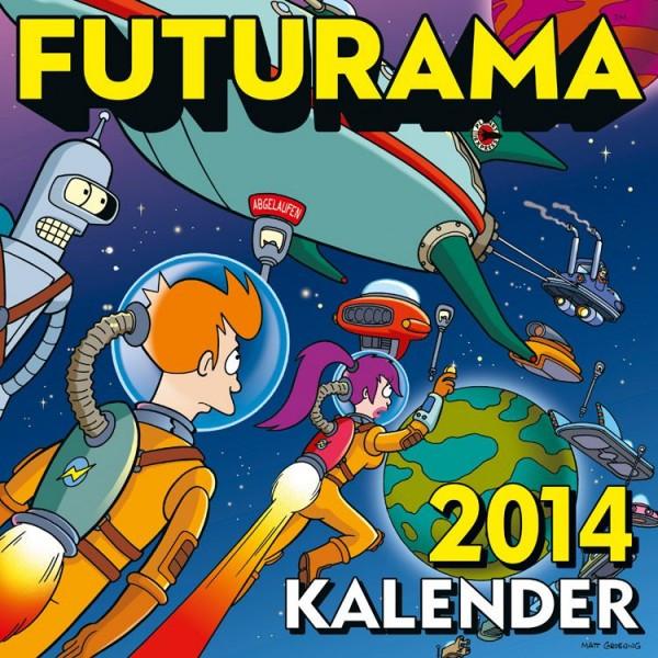 Futurama - Wandkalender (2014)