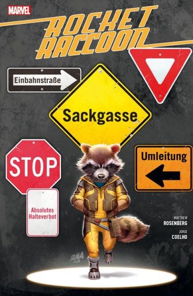 Rocket Raccoon: Sackgasse Erde