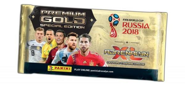 2018 FIFA World Cup Russia Adrenalyn XL - Premium Gold Tüte