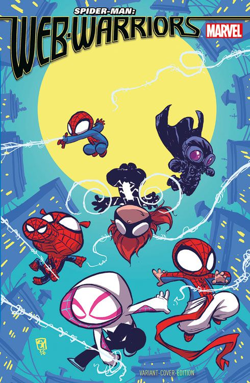 Spider-Man: Web-Warriors 1 Variant