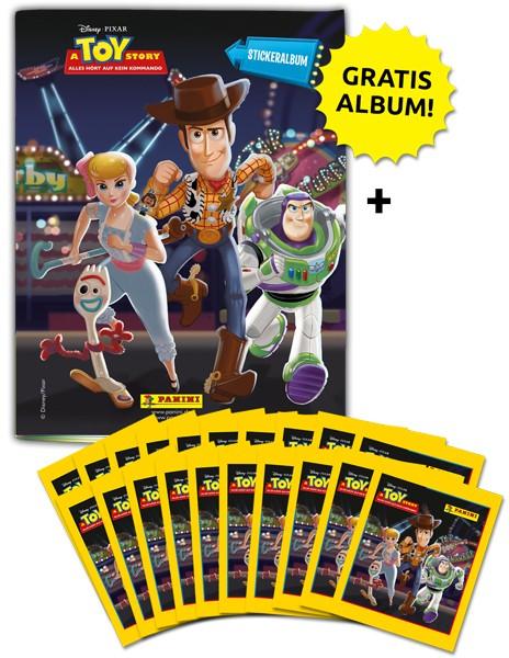 Disney Toy Story 4 – Sticker und Sammelkarten - Sammelbundle