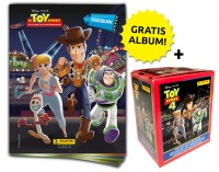 Disney Toy Story 4 - Sticker und Sammelkarten - Sticker-Starter-Bundle